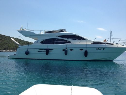 AZIMUT 46 in Porto San Giorgio for hire