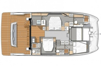 Charter Motorboat FOUNTAINE PAJOT MY 44 Šibenik
