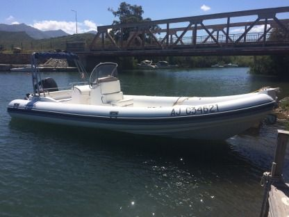 Miete RIB Nova Jolly King 750 250Cv Saint-Florent