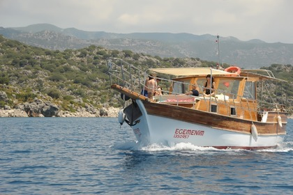 Hire Motorboat Custom Boat Demre