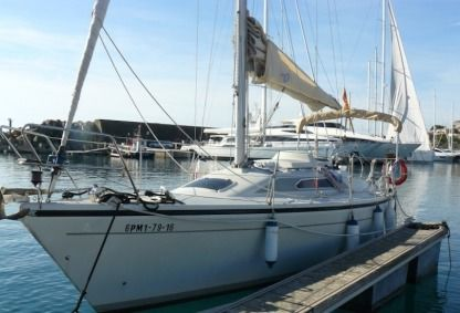 Charter Sailboat Dehler 31 Costa brava