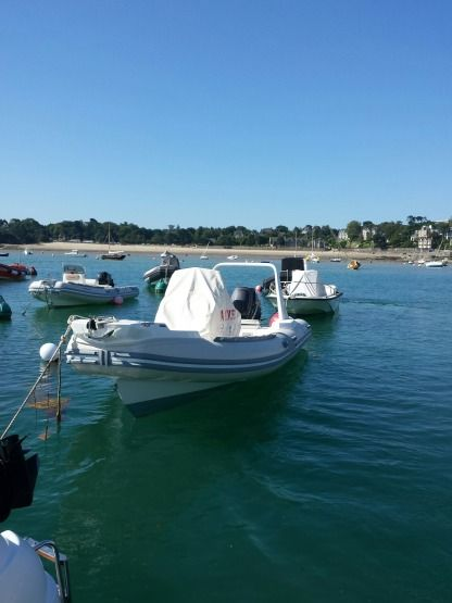 Rental RIB Lomac 710 In Dinard