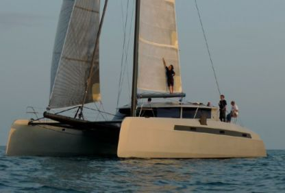 Location Catamaran Alibi 54 Ajaccio