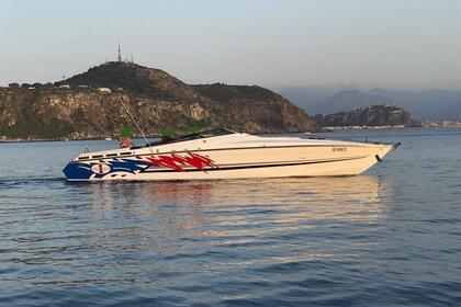 Charter Motorboat Cigarette Racing 41 open cruise Milazzo