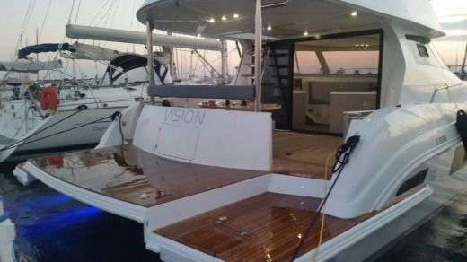 Flash Catamaran 43 S in Grimaud