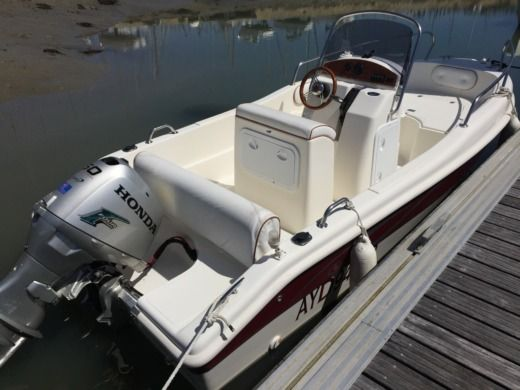 Motorboat BLU AND BLU ITALIA SRL 510 CONFORT peer-to-peer