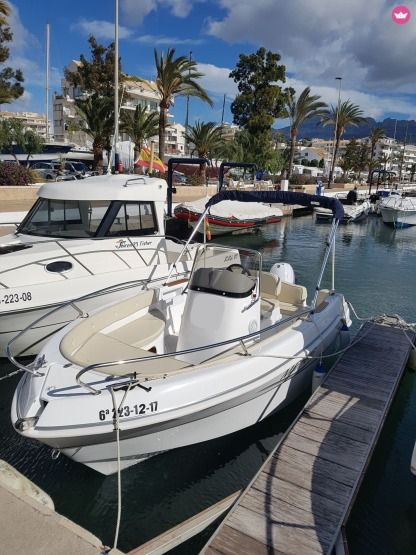 Rental Motorboat Marinello Fisherman 16 Altea