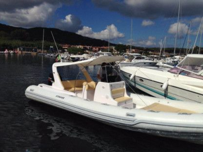 Charter Motorboat Stingher 800 Gt Stintino