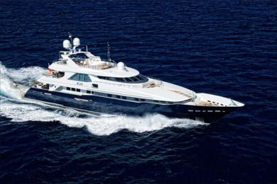 Rental Motorboat Heesen 44M Cannes