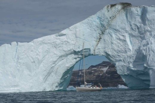Charter sailboat in Ilulissat peer-to-peer