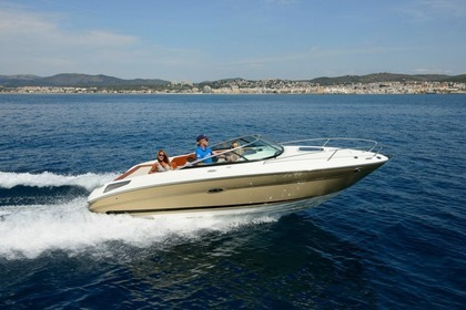 Hire Motorboat SEA RAY 210 SUN SPORT Cannes