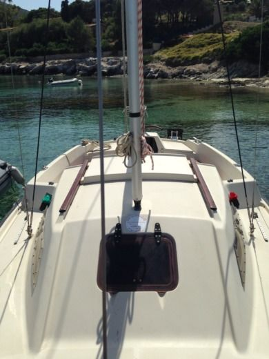 Beneteau California in Calvi