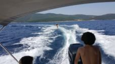 Charter motorboat in Rabac