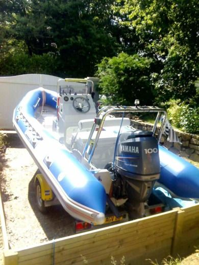 RIB Narwhal Wb 550 for hire