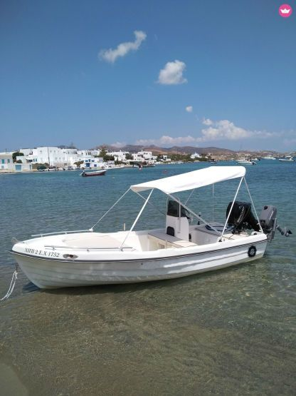 Rental Motorboat Asso Sea Raider Milos