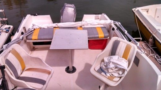 Charter motorboat in Palavas-les-Flots peer-to-peer