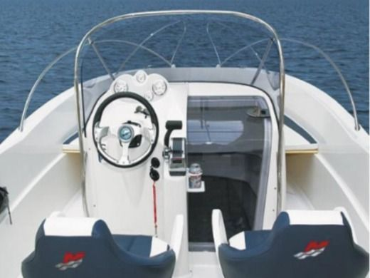 Motorboat Quicksilver 635 Commander for rental