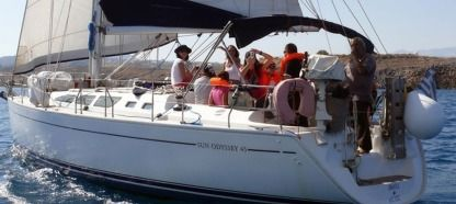 Rental Sailboat Jeanneau Sun Odyssey 43 Heraklion