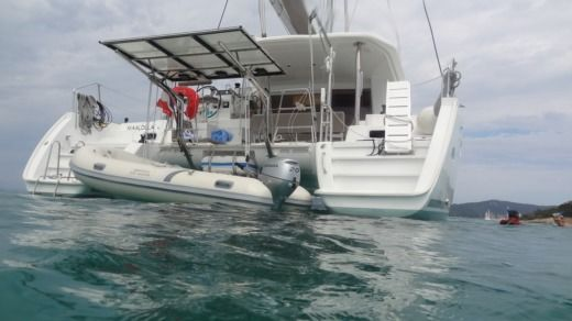 Charter catamaran in Propriano peer-to-peer
