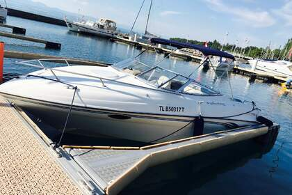 Charter Motorboat FOUR WINNS 225 SUNDOWNER Excenevex