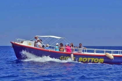 Charter Motorboat Custom Glass Bottom Zakynthos