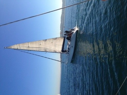 Beneteau First 35S5 in Hendaye