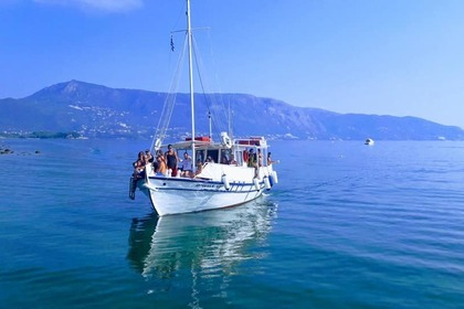 Hire Motorboat Traditional Boat Corfu