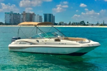 Hire Motorboat Hurricane Deck Boat Pompano Beach