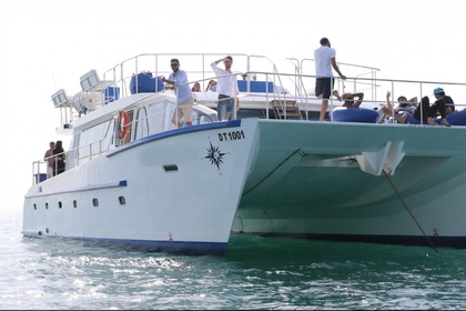 Czarter Katamaran Power Catamaran 50 People Dubaj