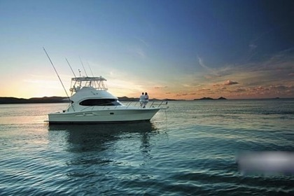 Charter Motorboat Riviera 38' Flybridge Sag Harbor