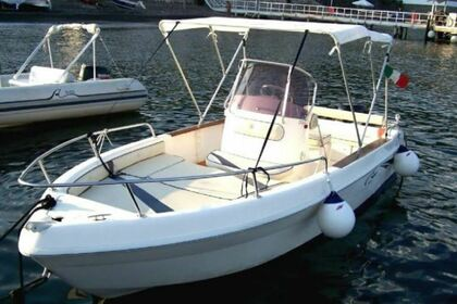 Rental Motorboat Saver 5.4 Lipari