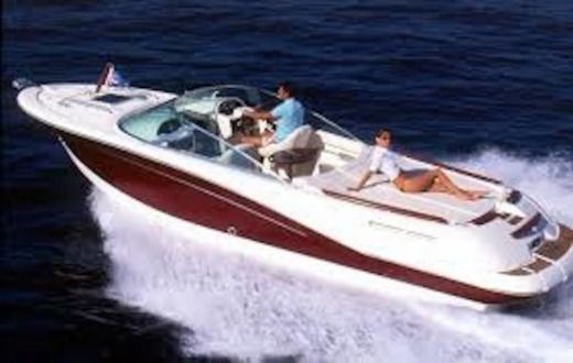 Motorboat Janneau Runabout for hire