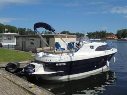 Rental Motorboat Am 780 Węgorzewo