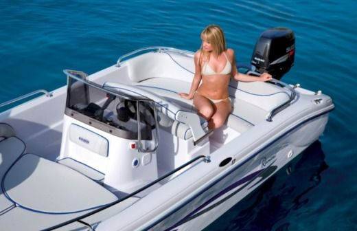 Motorboat RANIERI Voyager 17 - 2012 for hire