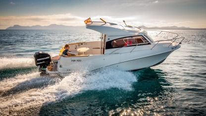 Rental Motorboat Quicksilver 640 Weekend Alcúdia