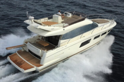Rental Motorboat PRESTIGE 500 FLY Estepona