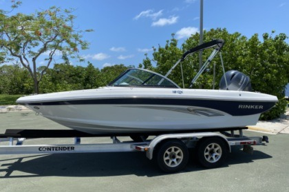 Miete Motorboot Rinker QX18OB Fort Lauderdale