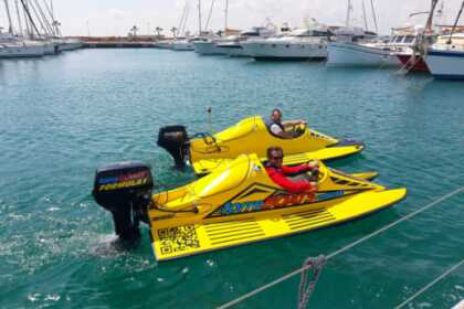 Alquiler Lancha Formula One, NO license required Torrevieja