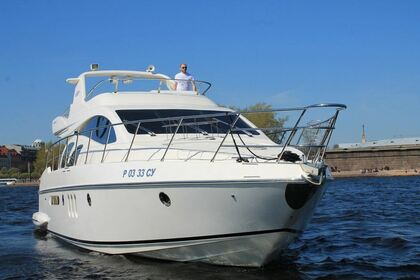 Rental Motorboat Azimut Azimut 55 Saint Petersburg