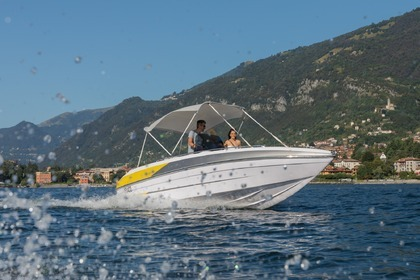 Charter Motorboat Tullio Abbate Sea Star open 21 Tremezzo