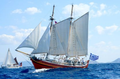 Rental Sailboat Greek Traditional Sailing Boat Faneromeni Mykonos