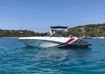 Rental Motorboat Glastron Gts 245 Ibiza