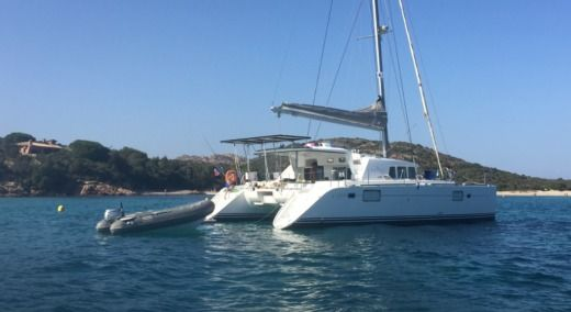 Catamaran Lagoon 440 for hire