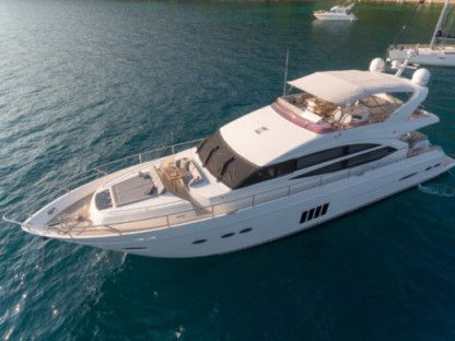 Rental Motorboat Princess 72 Fly Podstrana