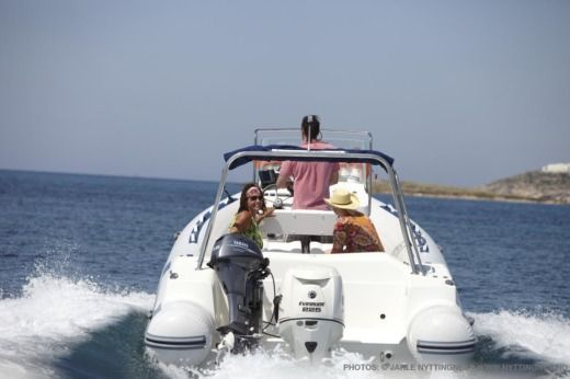 Northstar 225WRT in Antiparos for hire