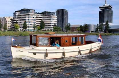 Charter Motorboat Salonboot Rose Amsterdam