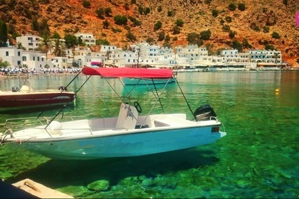 Hire Motorboat Mare 5.5m - 30hp Hora Sfakion