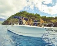Motorboat Kelt White Shark 226 for hire