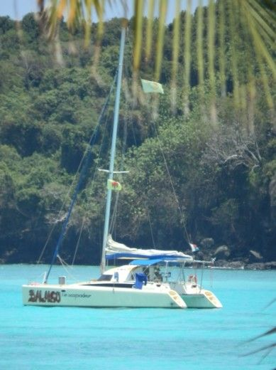 Catamaran Fountaine Pajot Antigua for hire