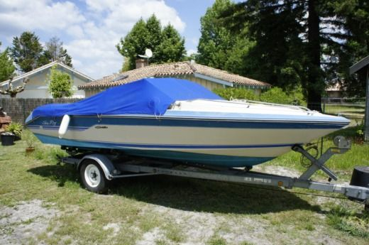 location sea ray seville 17 biscarrosse click boat. Black Bedroom Furniture Sets. Home Design Ideas